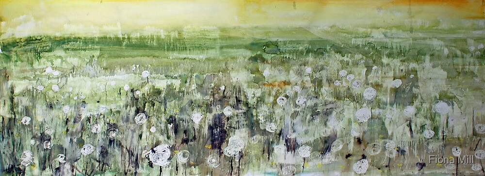 River valley meadow by Fiona Mill
