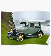 1927 Ford Tudor Sedan Poster