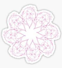 Alex Turner Kaleidoscope   Sticker