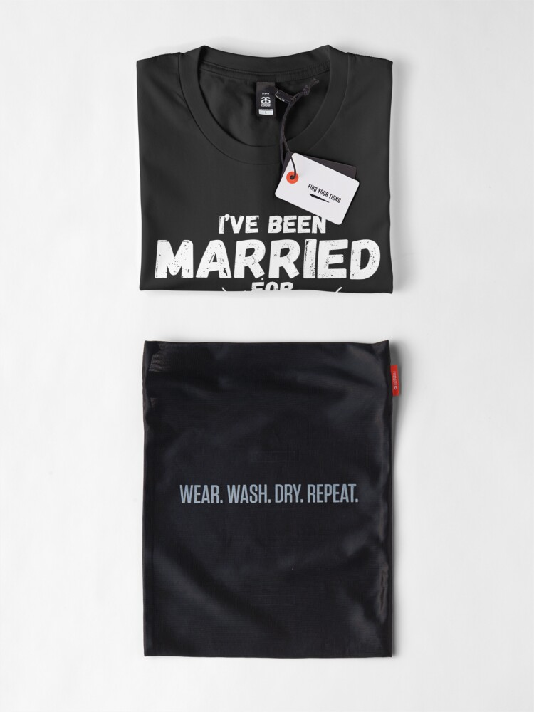 Alternate view of Couples Married 40 Years - Funny 40th Wedding Anniversary Premium T-Shirt