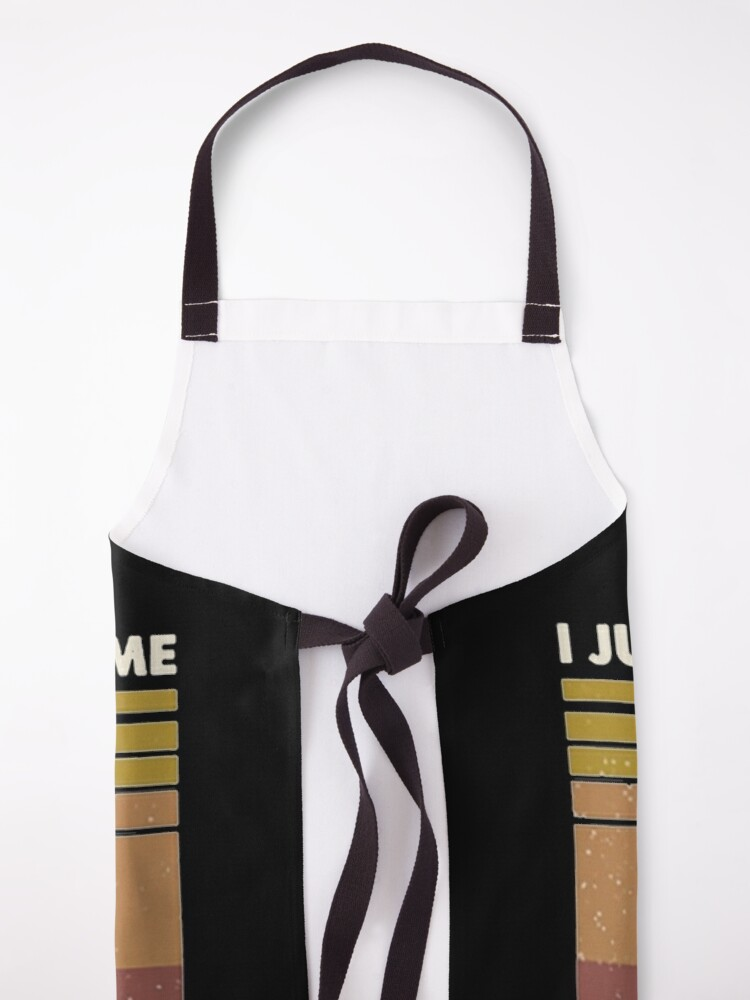 Alternate view of I Just Baked You Some Shut The Fucupcakes cat lover gifts Apron