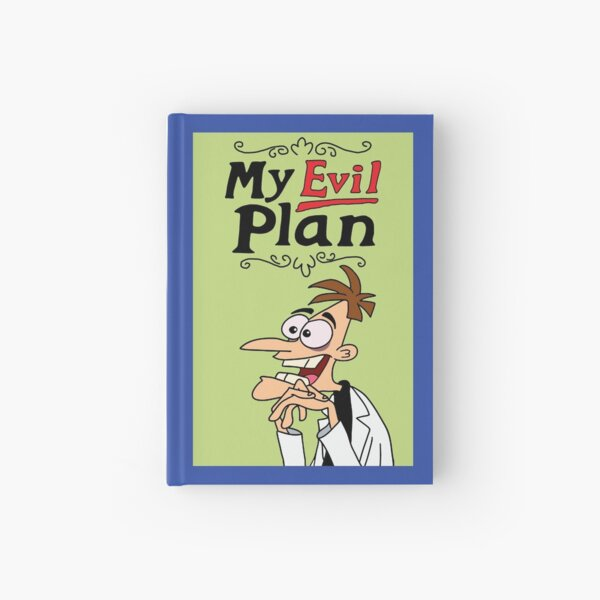 Prop Replica: Dr. Heinz Doofenshmirtz Mein Evil Plan Journal Notizbuch