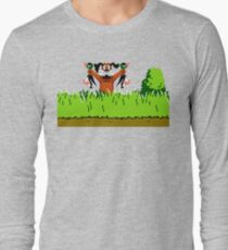 Duck Hunt Dog with 2 Ducks Long Sleeve T-Shirt