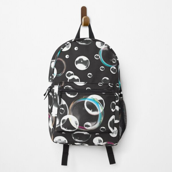 Black Bubbles - Gothic Backpack