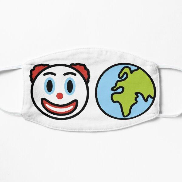 CLOWN WORLD Flat Mask
