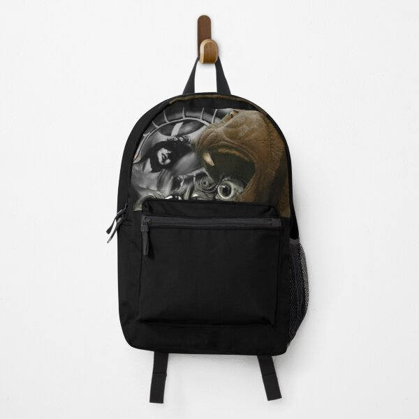 Lion Eating Dreams (Assyrian Lion, Salvator Dali, Hitchcock (Graphic by ACCI) Backpack