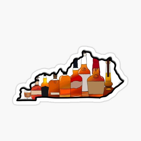 KY Bourbon Sticker