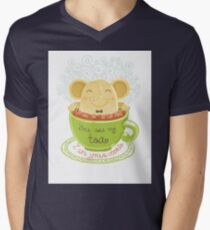 Tea and Cookie - Rondy the Elephant Mens V-Neck T-Shirt