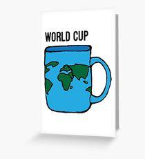 Weltmeisterschaft Grußkarte