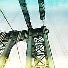 manhattan bridge by Vin  Zzep