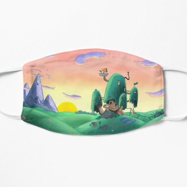 adventure time house Flat Mask