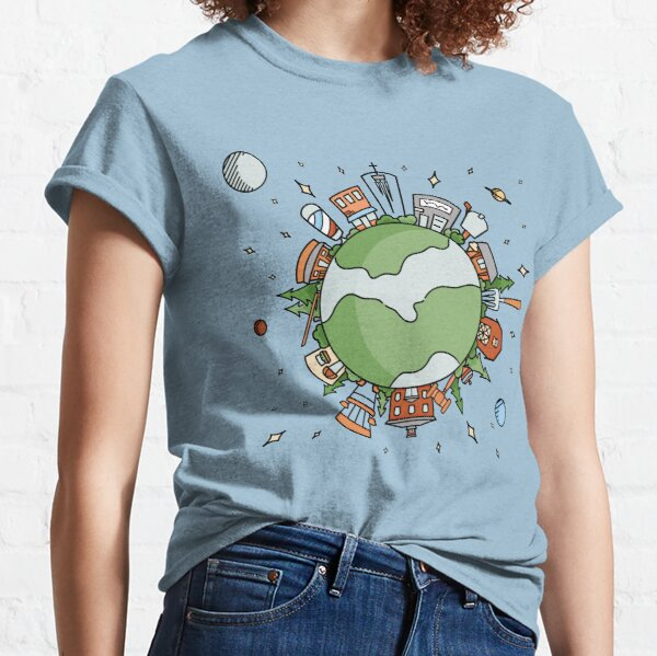 On Top of the World | Big Things Small Town Classic T-Shirt