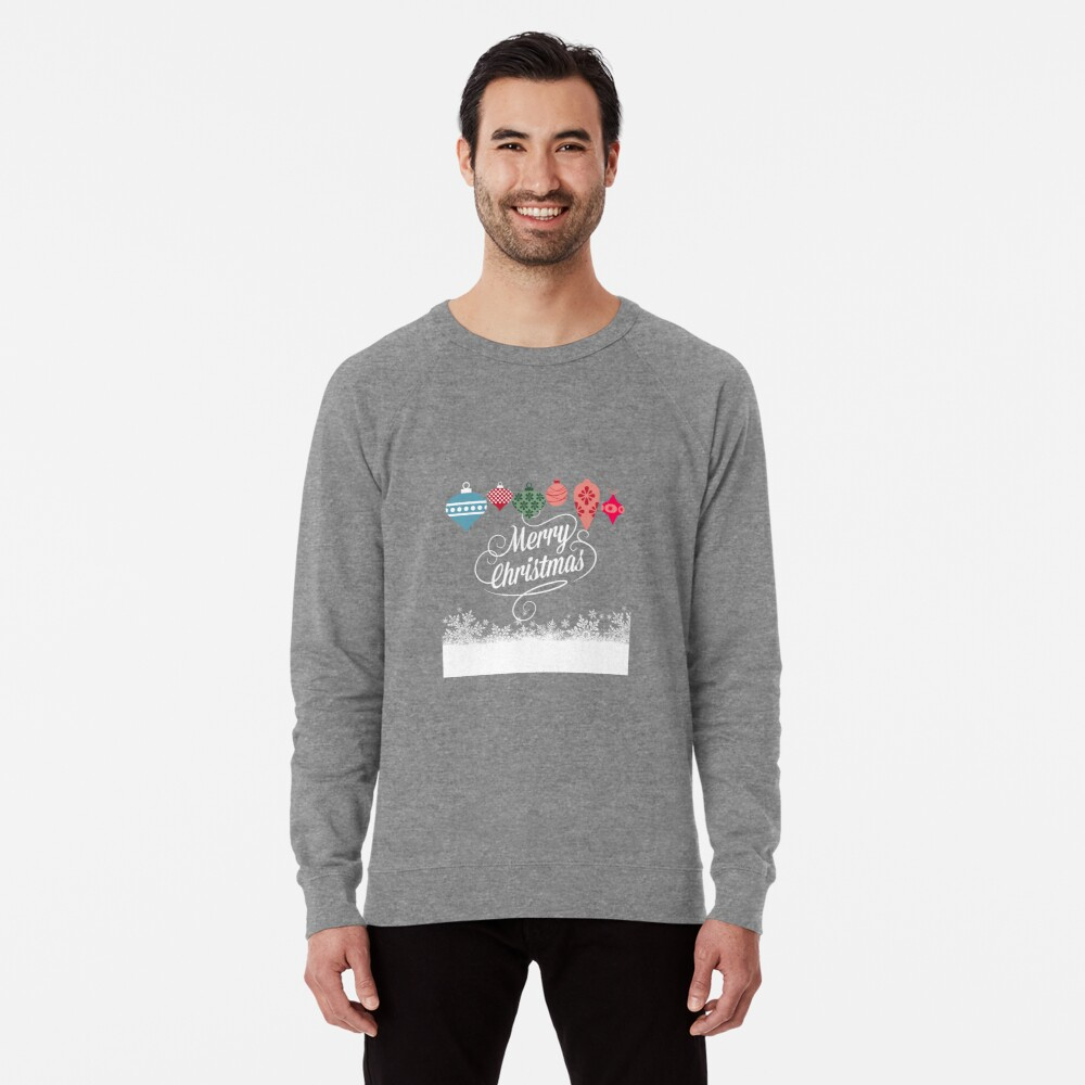 Merry Christmas  Leichter Pullover
