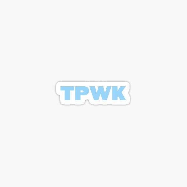 TPWK Pegatina