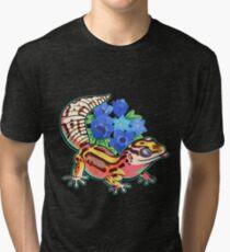 Camiseta de tejido mixto Bold gecko