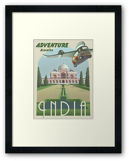 Adventure Awaits in India by stevethomasart