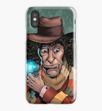 Dr Who Tom Baker iPhone Case