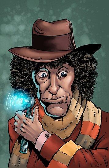 Dr Who Tom Baker by RobThibodeau