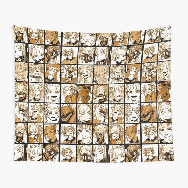 un gran collage con manga original para usar en camisetas Tela decorativa