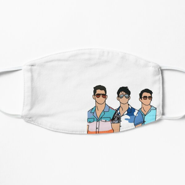 Drawing inspired by the Jonas Brothers Flat Mask