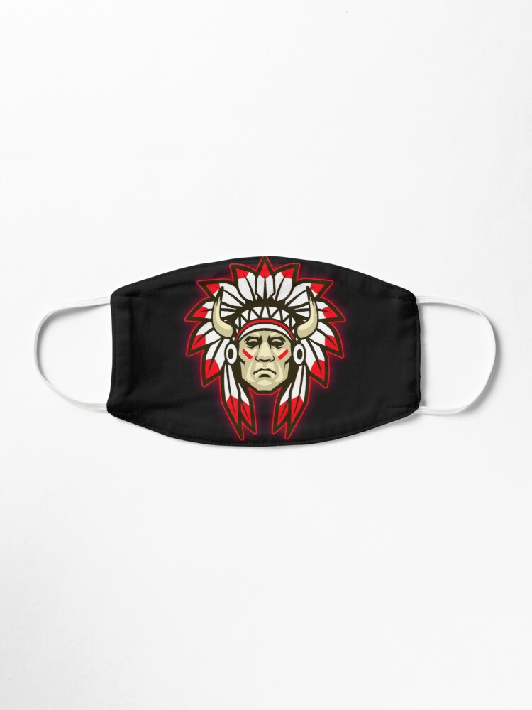 Alternate view of Native American  Face Mask Mask