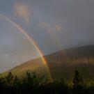 A Double Rainbow by SunDwn
