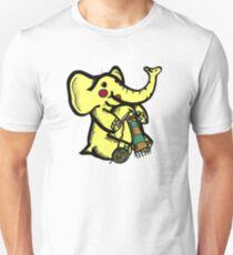 Knitting Elephant Loves Yarn T-Shirt