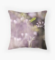Purple curtain...Got Featured Work:) Throw Pillow