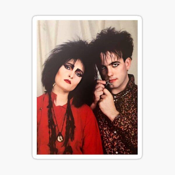 Siouxsie sioux and robert smith Sticker