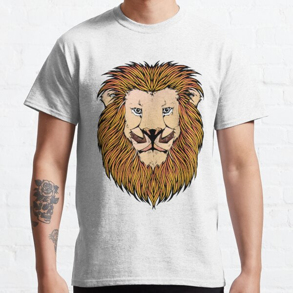 Lion Stare with Large Mane Classic T-Shirt