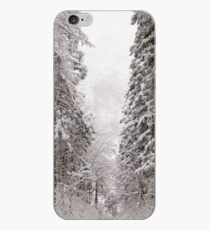 Vinilo o funda para iPhone Snow Trees