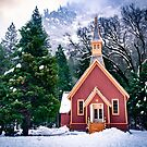 Yosemite Church by Cat Connor