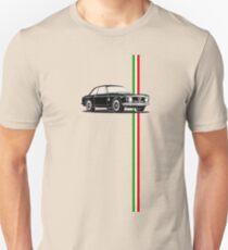 Alfa Romeo Giulia Sprint GTA with Italian flag stripe T-Shirt