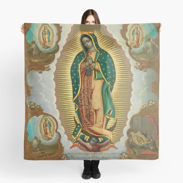 La Guadalupana | Virgin of Guadalupe | On view at The Met Gallery 749  Scarf