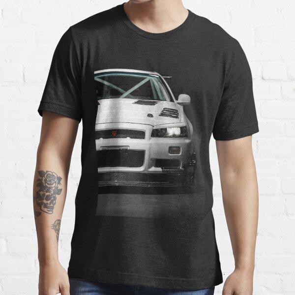 Mat Wootten's Nissan Skyline R34 GTT Essential T-Shirt