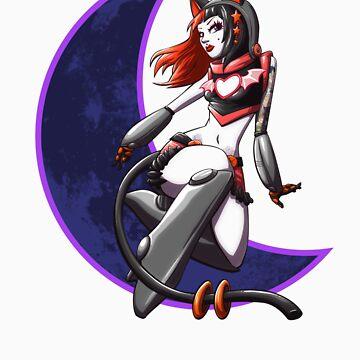 Moon cat 2 by cbangel