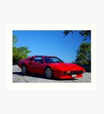 1980 Ferrari... I had a Dream......... Art Print