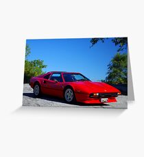 1980 Ferrari... I had a Dream......... Greeting Card