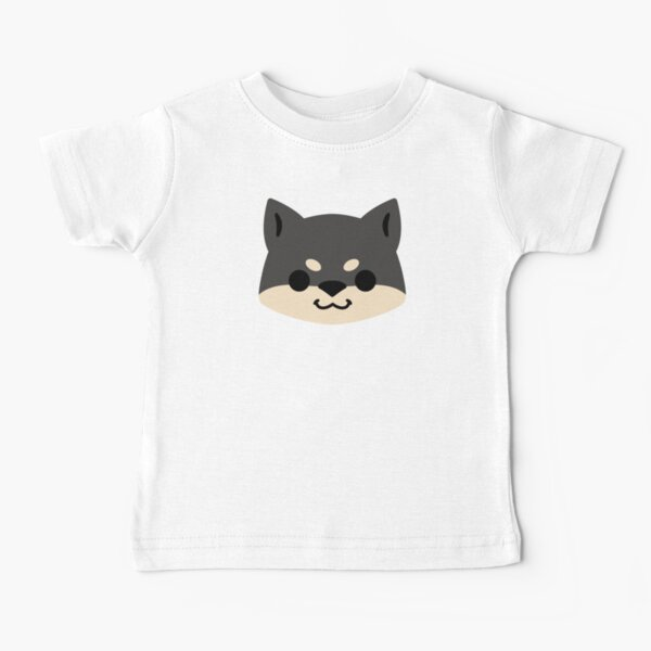 Happy Black and Tan Shiba Baby T-Shirt