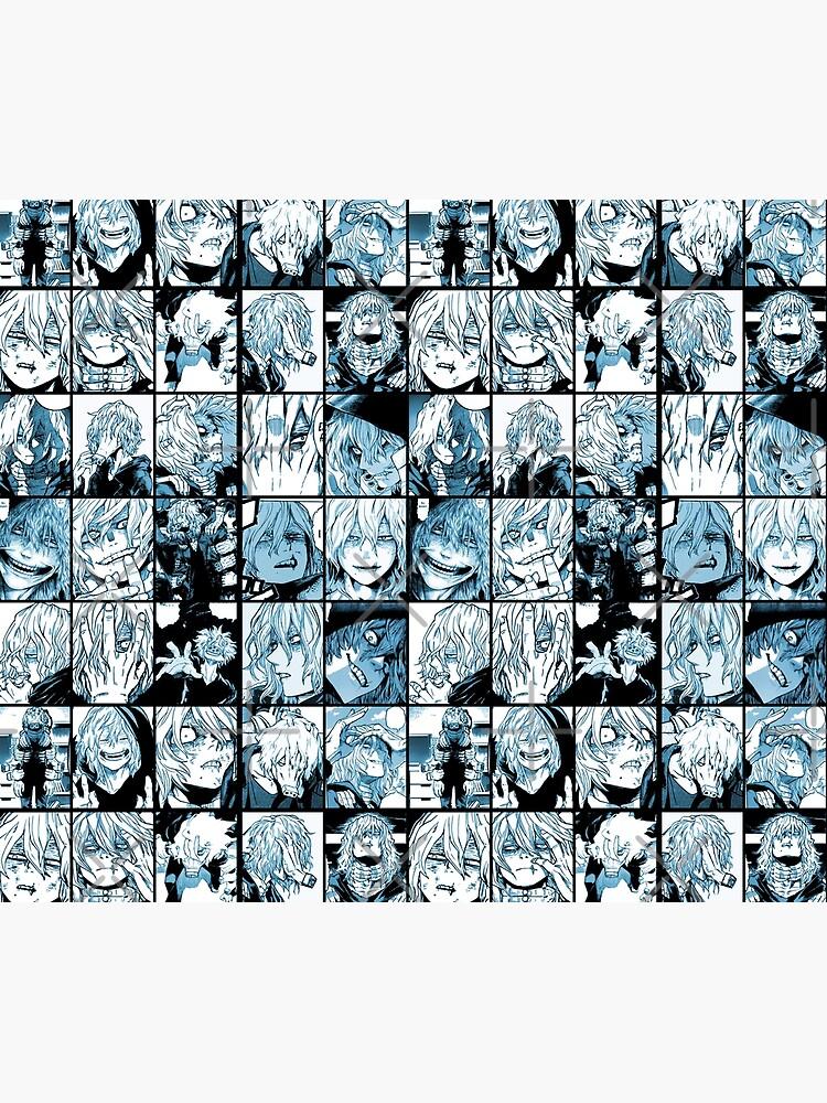 Shigaraki Collage (color version) by Angellinx3
