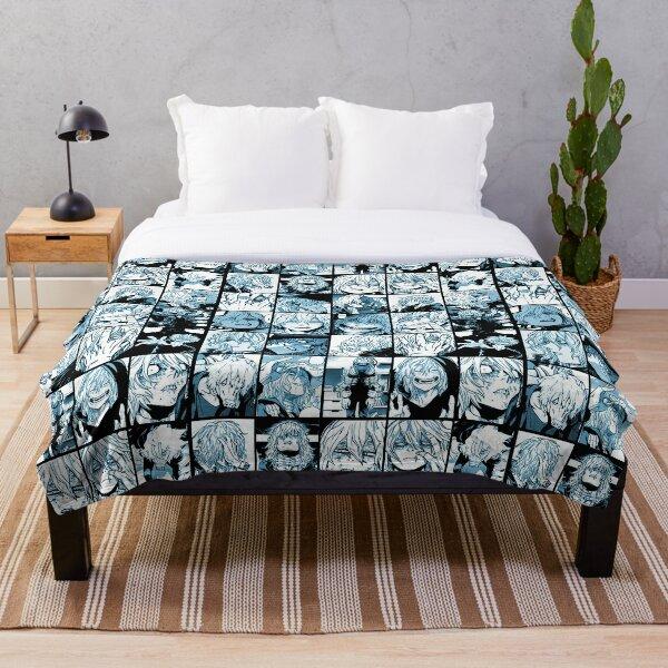 Shigaraki Collage (color version) Throw Blanket