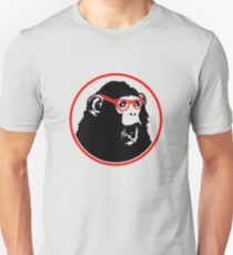 Nerd Ape with Glasses T-Shirt