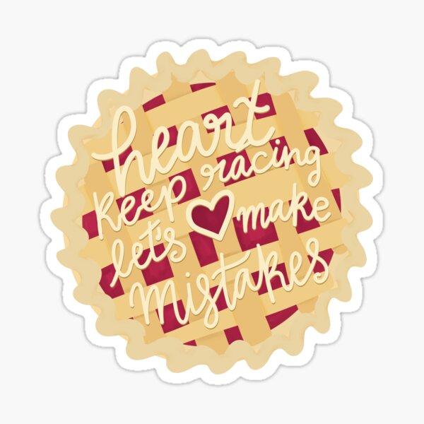 Waitress Musical Sticker