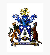 Norfolk Island Coat Of Arms Photographic Print