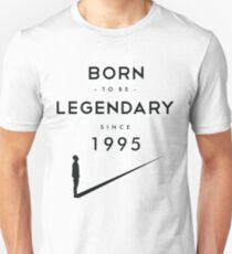 Born to be Legendary - 1995 Unisex T-Shirt