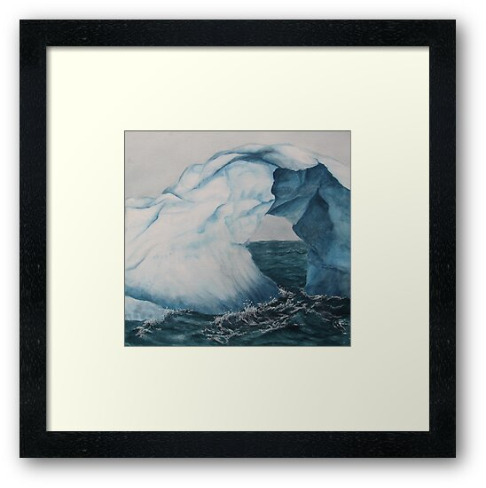 blue ice by diane nicholson