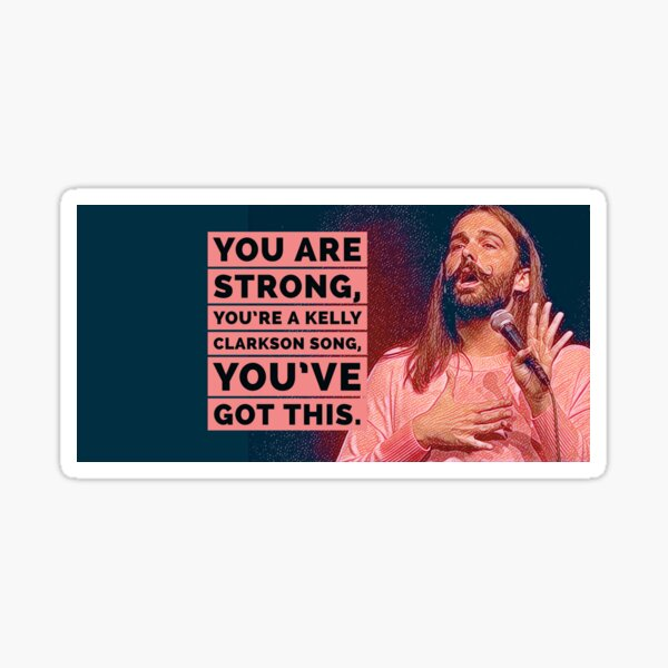 You Are Strong Sticker