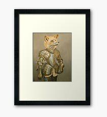 Fox Knight Framed Print