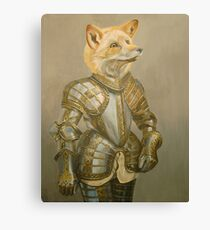 Fox Knight Canvas Print