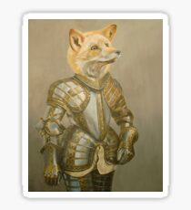 Fox Knight Sticker